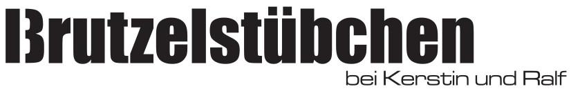 Brutzelstuebchen bei Kerstin und Ralf Logo